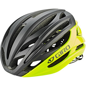 Giro Syntax Fietshelm, highlight yellow/black